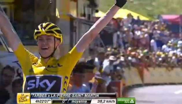 Christopher Froome assomme le Tour