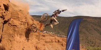 chutes, red bull rampage, video