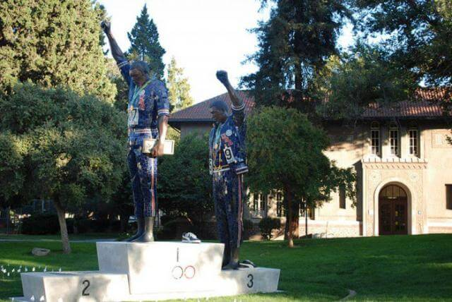 Statue Black Panthers, JO 1968