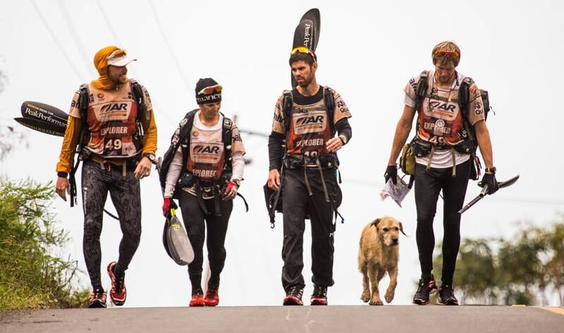 Arthur, chien errant, Team Peak Performance, raid nature