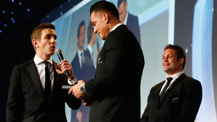 Sonny Bill Williams, nouvelle médaille, World Rugby