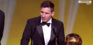 Lionel Messi, Ballon d'Or 2016