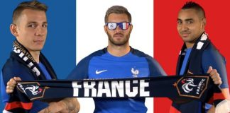 Supporters France Euro 2016
